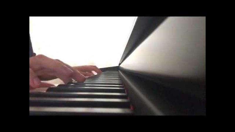 Изумительно красивая игра на пианино