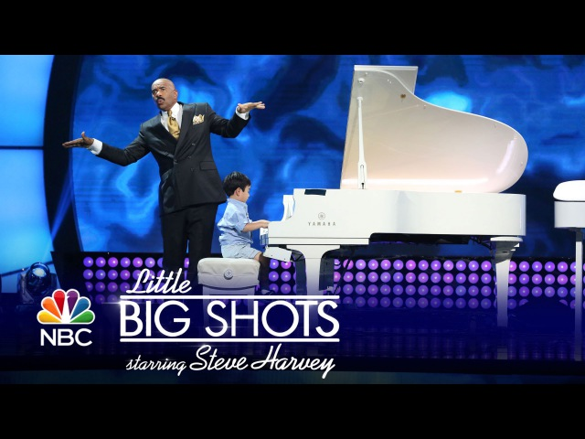 Little Big Shots - Four-Year-Old Piano Prodigy (Episode Highlight)