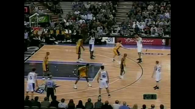 Sacramento KINGS vs Indiana PACERS 05 .01 .2001.