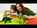 Игры и опыты для детей. Делаем извержение вулкана. Дети и родители