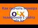 Olx казахстан/ Парсер olx.kzparser/База данных/ телефоны олх/ номера телефонов сландо
