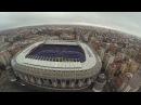 Estadio santiago bernabéu Stadium Real Madrid C.F. Filmed with DJI Phantom Drone GoPro 3 Black