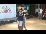 Morenasso and Anais - Dubai Latin Festival 2016 - Kizomba