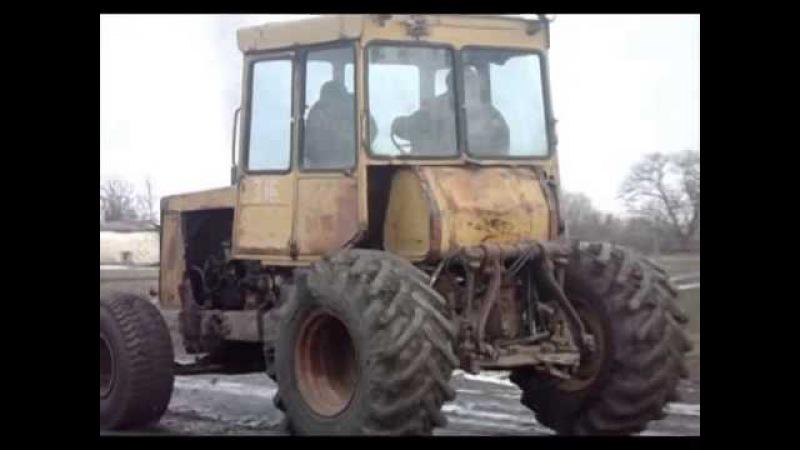 Дт 75 на колесах