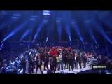 Фьюри исполняет после победы над Кличко