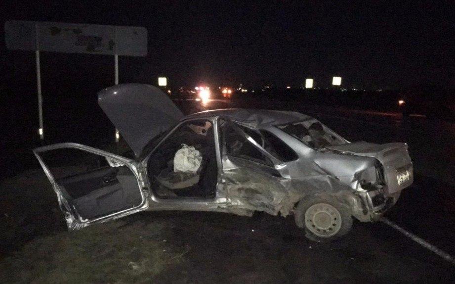 В серьезном ДТП под Таганрогом пострадали 4 человека, в том числе 7-летний ребенок