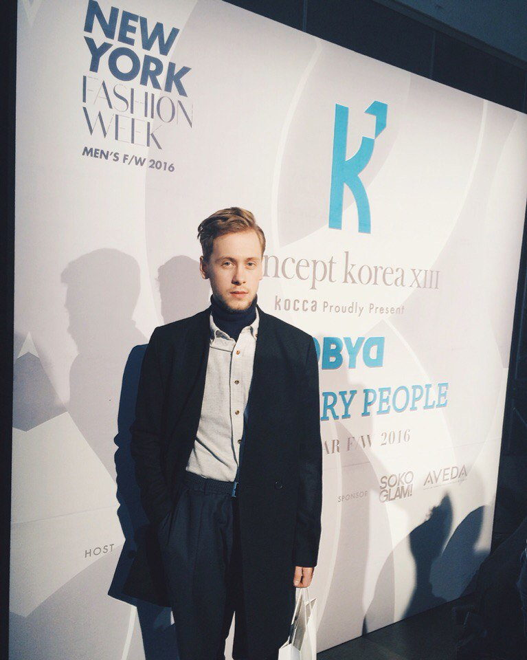 Mykola Hruts at Concept Korea