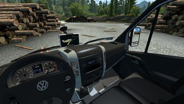 Volkswagen Crafter 2.5 для Euro Truck Simulator 2 - Скриншот 1