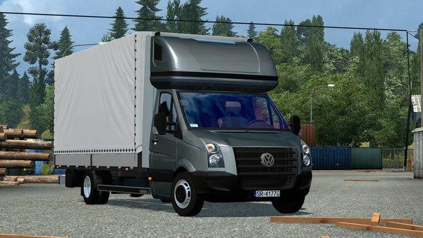 Volkswagen Crafter 2.5 для Euro Truck Simulator 2 - Скриншот 3