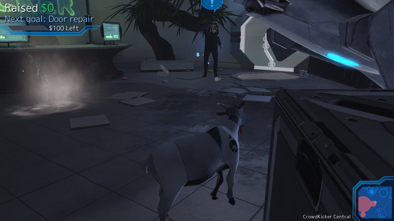 Goat Simulator: Waste of Space (2016) PC - Скриншот 3