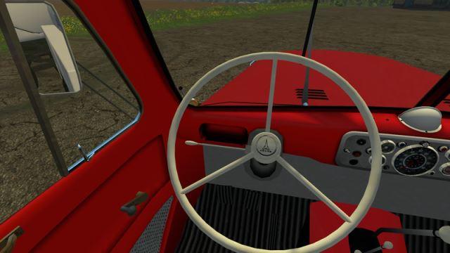 Magirus milk Truck & Trailer для Farming Simulator 2015 - Скриншот 1
