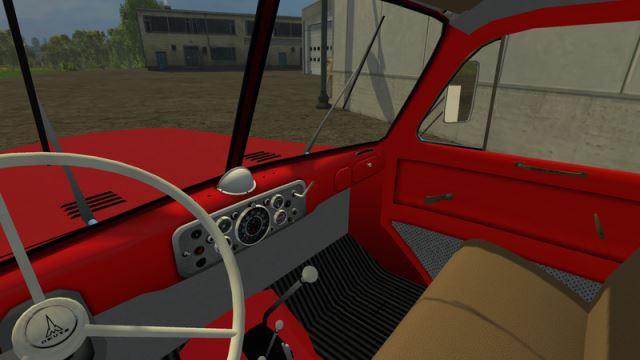Magirus milk Truck & Trailer для Farming Simulator 2015 - Скриншот 2