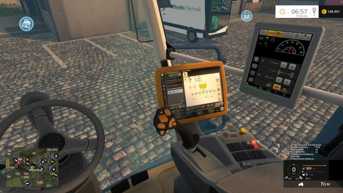 Amazone Pantera 4502 для Farming Simulator 2015 - Скриншот 1