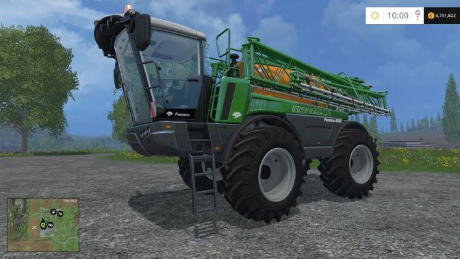 Amazone Pantera 4502 для Farming Simulator 2015 - Скриншот 2