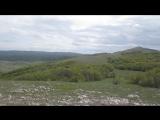 обзорный вид на Караби Яйлу с вершины горы Кара Тау, в компании случайных попутчиков и замечательных людей:))