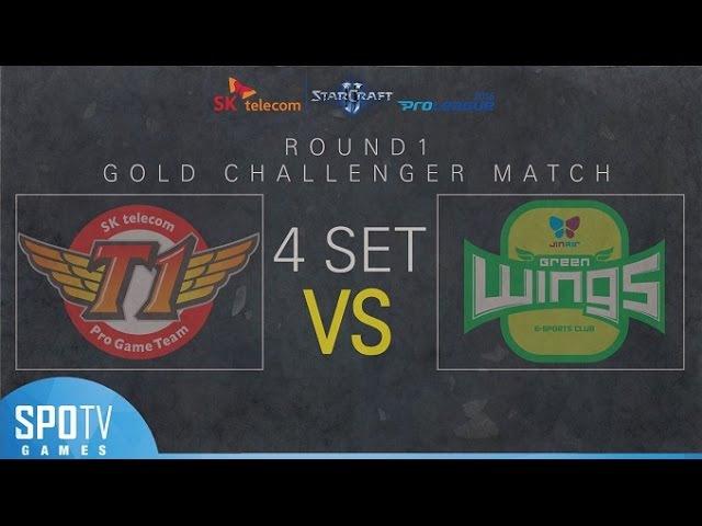 [SPL2016] 1R Playoff Finals (SKT) vs (Jin Air) Set4 Prion Terraces -EsportsTV, Starcraft 2