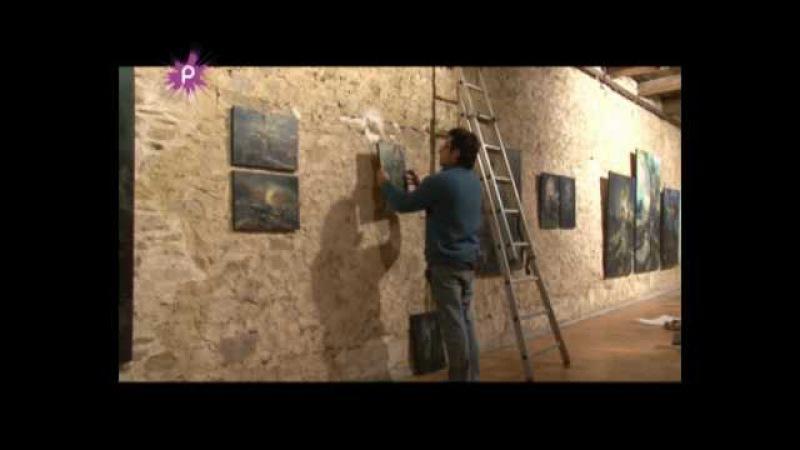 120 peintures et sculptures au Château de la Groulais à Blain.