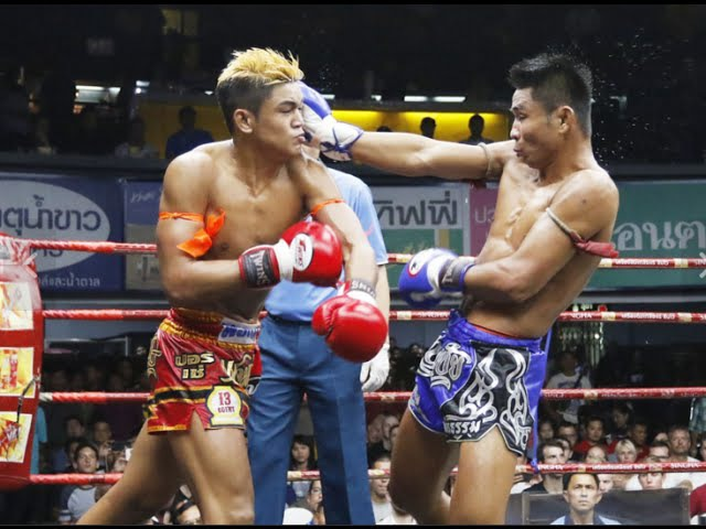 Sangmanee red vs Thanonchai Thanagongym blue