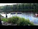 Карелия. Рафтинг по Шуе 26.07.2013. Часть 1