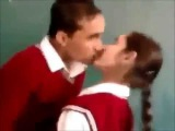Indian Desi School Boys _ Girls kissing in Classroom -