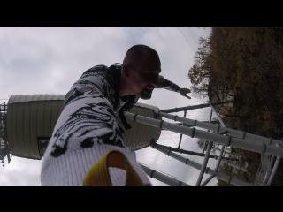 Сочи,Скайпарк Мой прыжок 69 м GO PRO