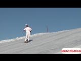 Урок 21.1 - Видео лыжи Укол палкой в горных лыжах(5)