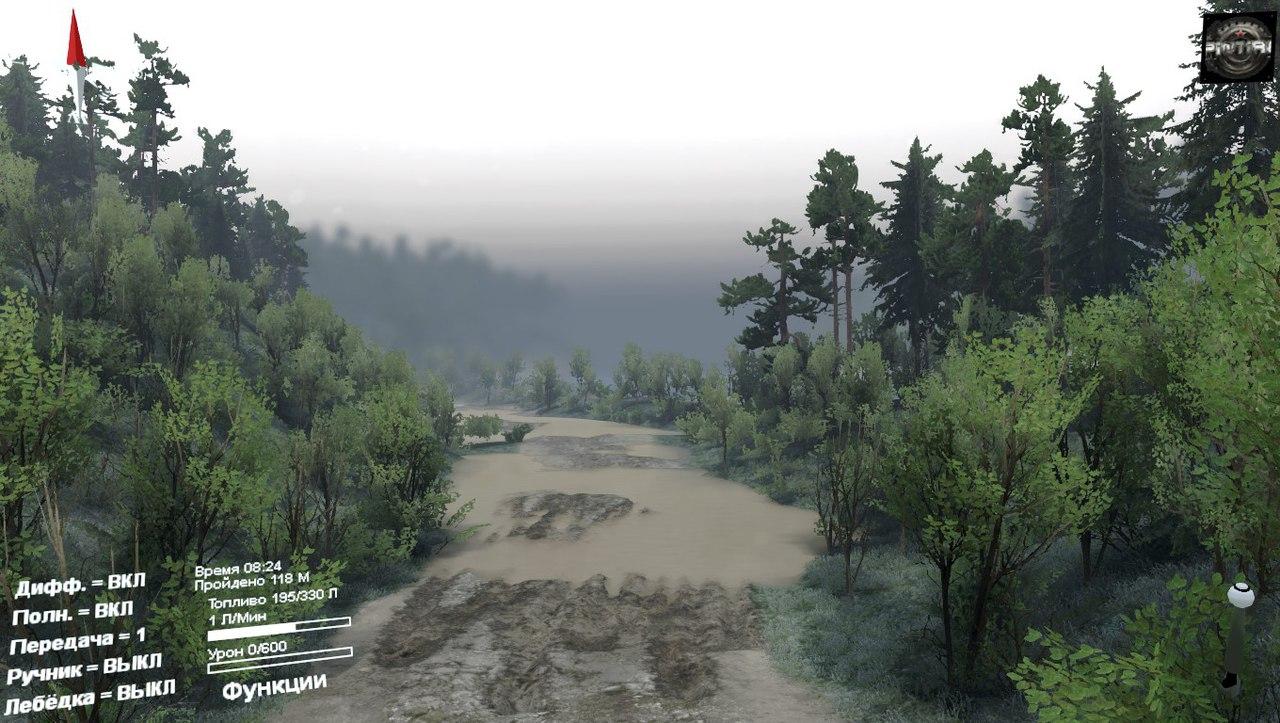 Карта Междугорье для 03.03.16 для Spintires - Скриншот 2