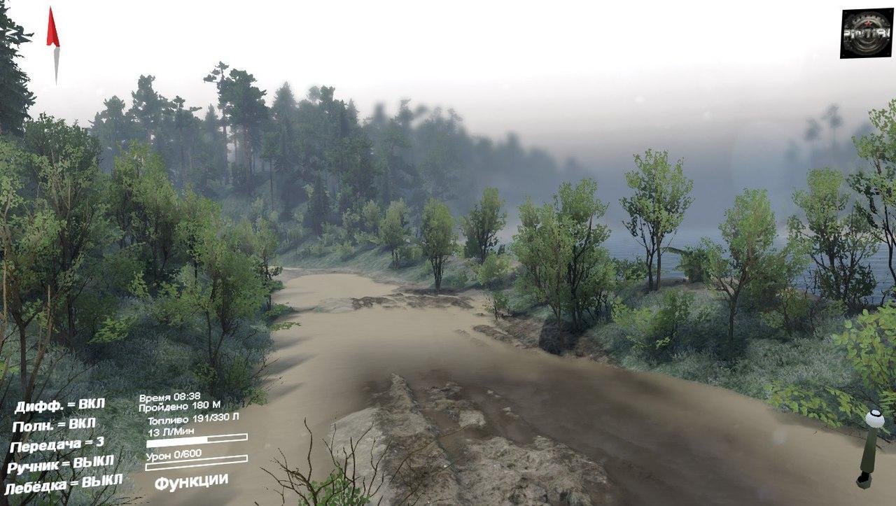 Карта Междугорье для 03.03.16 для Spintires - Скриншот 3