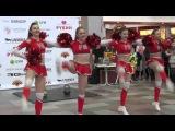 Группа поддержки ТХК РОЗОВАЯ ПАНТЕРА на спортивном празднике ТРЦ Рубин