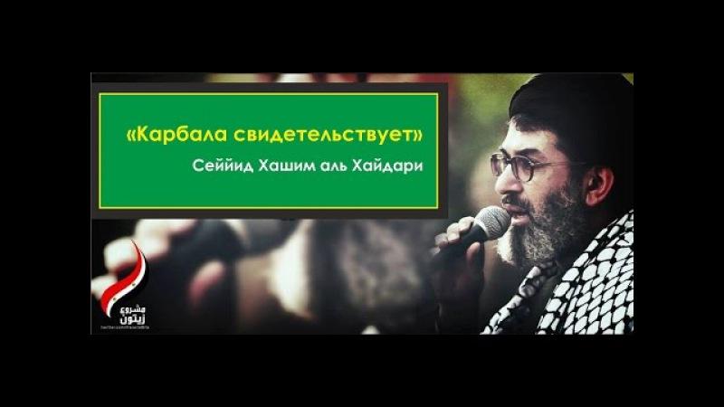 Сеййид Хашим аль-Хайдари Карбала свидетельствует
