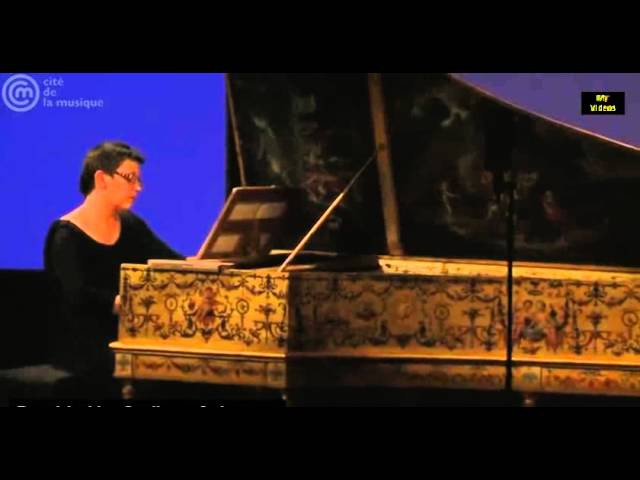 Bach French Suite No 4 BWV 815 E major Blandine Rannou harpsichord