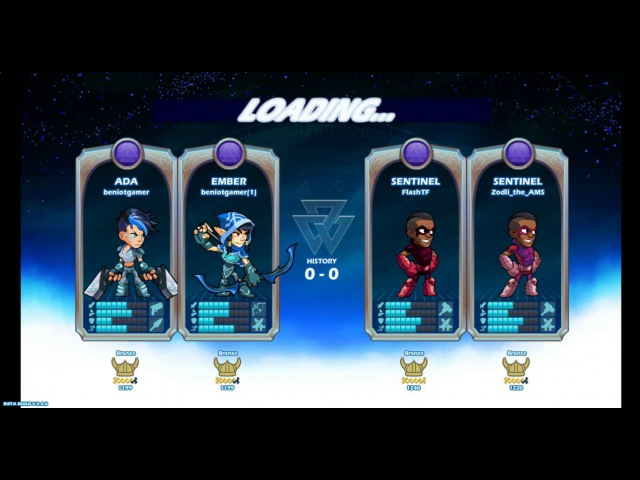 Brawlhalla MatchMaking [Flash Zodli] (Комментатор BroSonic) :D