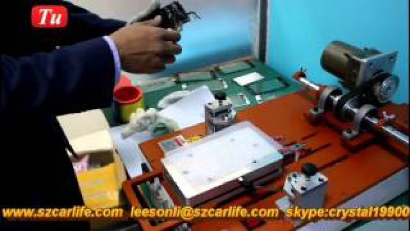 How to iPhone 6S Broken Front Glass Replacement jiutu 9TU A002 Full Automatic Set of Machines