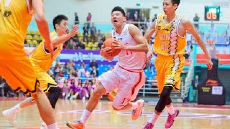 Zhao Yanhao 赵岩昊 CBA debut Nov 1 2015 15 pts on 5 7 3PA