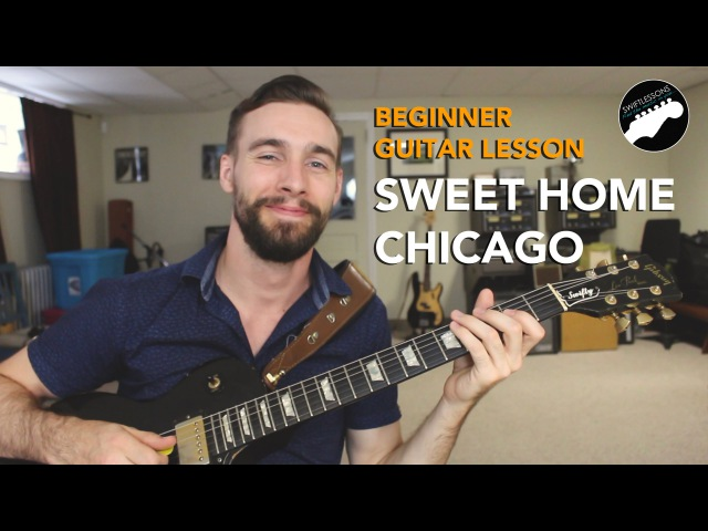 Beginner Blues Guitar Lesson - Sweet Home Chicago - Eric Clapton Licks and Tricks