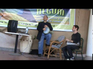 Dr. MOHAMED FOUAD. A fragment of the WS on rhythms in Camp Negum