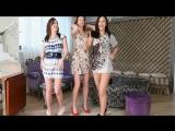 Seksi Kızlar Oryantal Müzik ile Dans Ediyor
