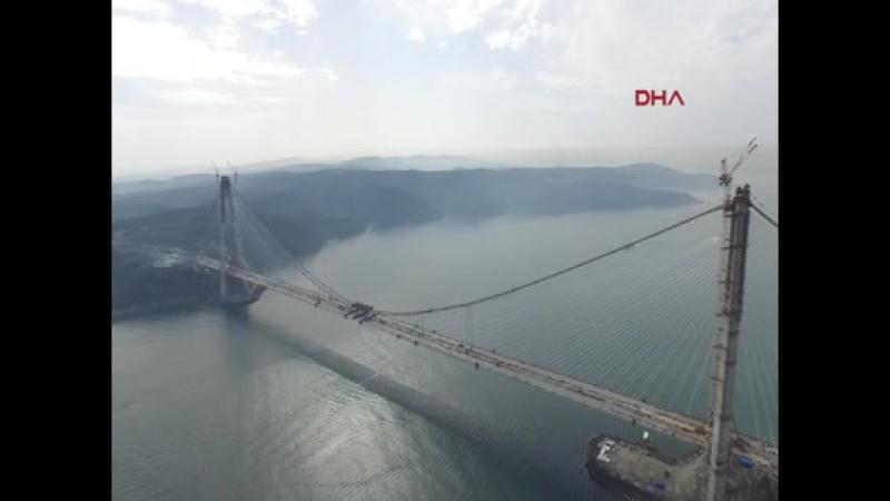 Üçüncü Boğaz Köprüsü Havadan Görüntü