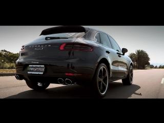 Porsche Macan S 3.0/3.6 Turbo | ARMYTRIX Cat-Back Valvetronic Exhaust | Techart Wheels