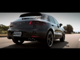 Porsche Macan S 3.0/3.6 Turbo | ARMYTRIX Cat-Back Valvetronic Exhaust | Techart Wheels