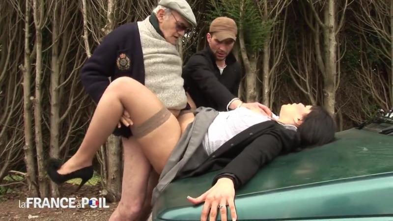 La France a Poil Carmen 22yo curvy beurette bigtits fucked in taxi Threesome grandpa anal