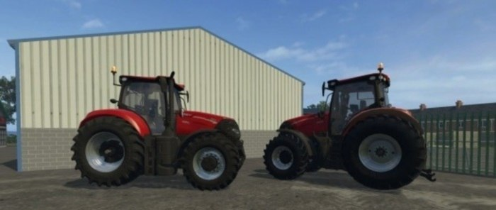 Трактор Case IH Optum CVX