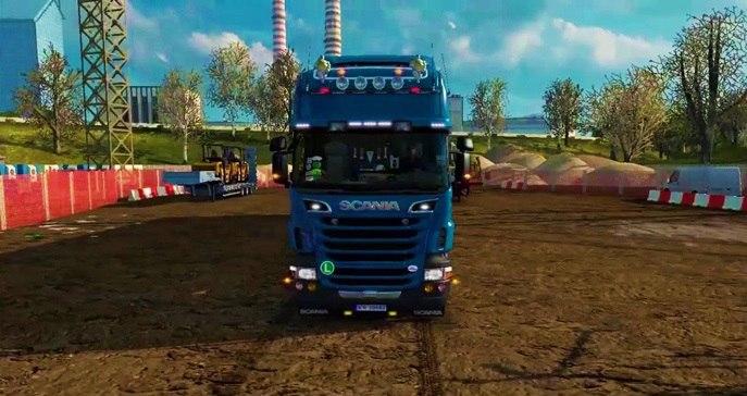 Новый звук Scania от Nelson