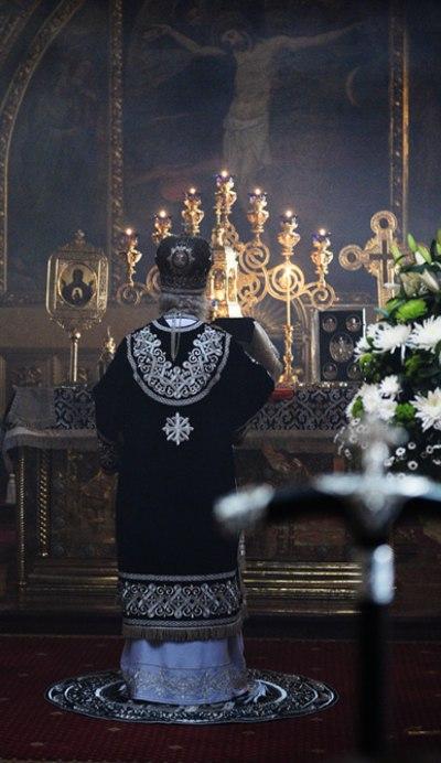 Литургија Пређеосвећених Дарова. Фото: С. Власов, извор: patriarchia.ru