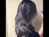 Классное окрашивание волос