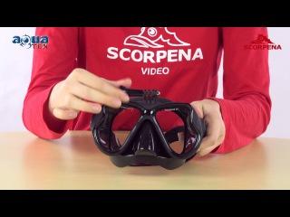 Новинка - Маска Scorpena X с креплением для GoPro