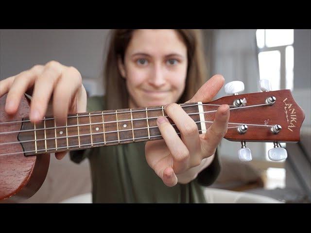 Как играть на укулеле Talk Me Down by Troye Sivan | nixelpixel