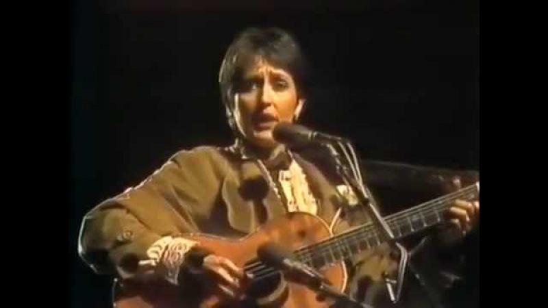 1982 Джоан Баэз поёт Окуджаву