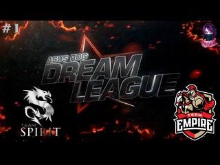 Team Spirit vs Team Empire , Game 1 | DreamLeague Season 5 (30.03.2016) Dota 2