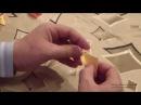 Как быстро сделать треугольный модуль. Модульное оригами